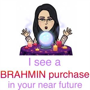 Other - I see a BRAHMIN purchase in your near future